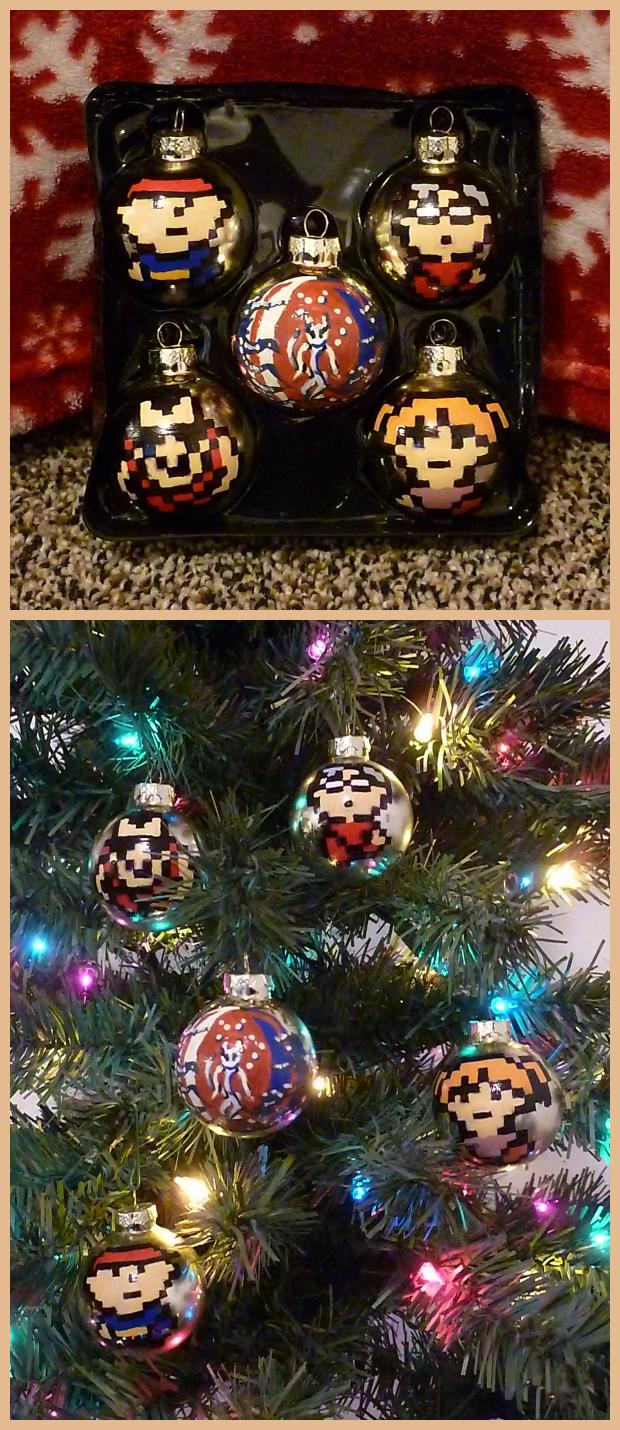EarthBound Beginnings Christmas Bulbs