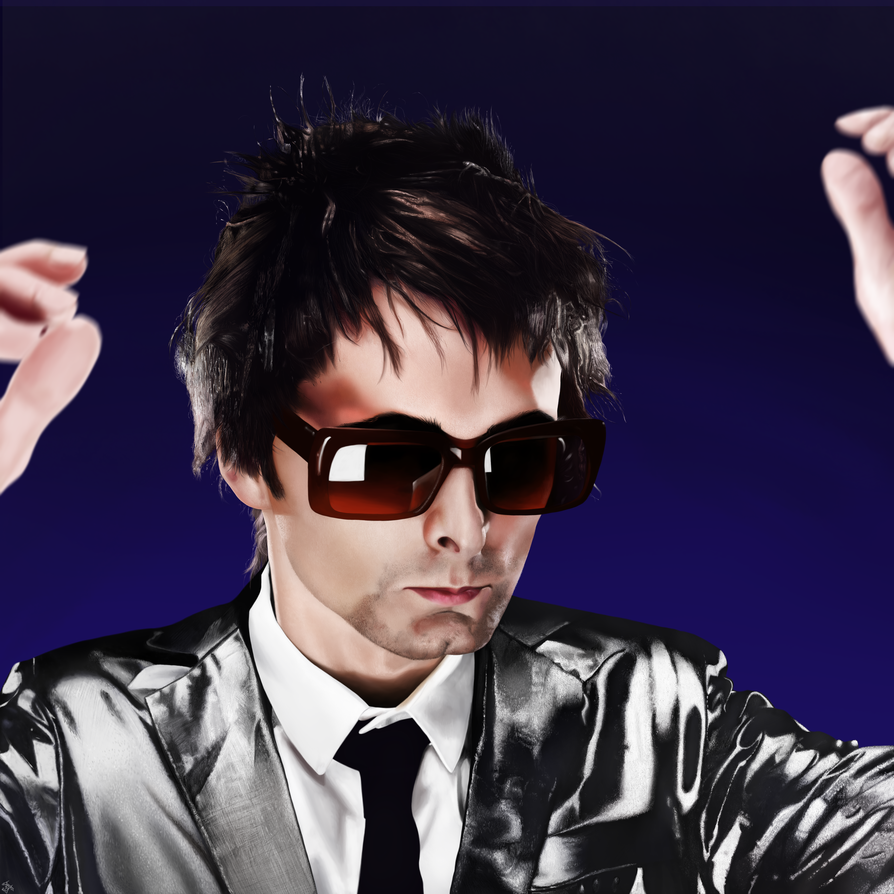 Matthew Bellamy Portrait