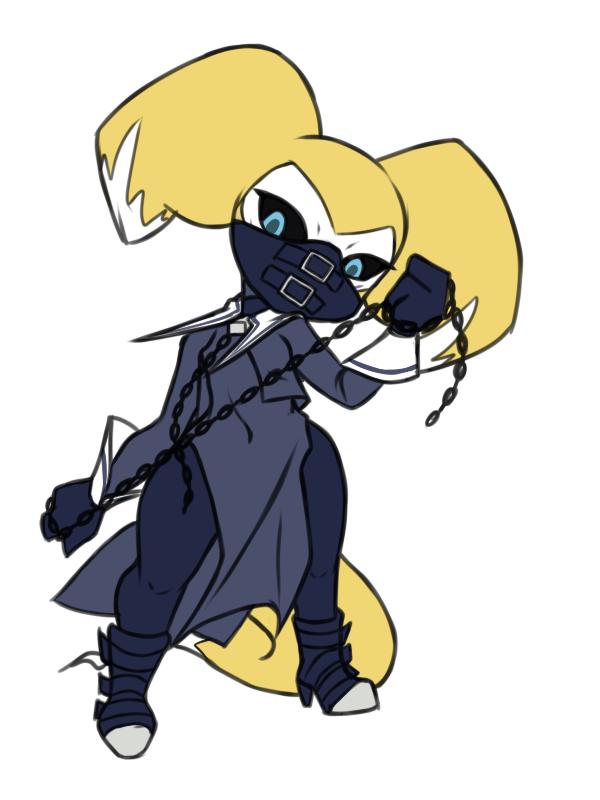 Reni dressup: Zaki (Rival Schools)