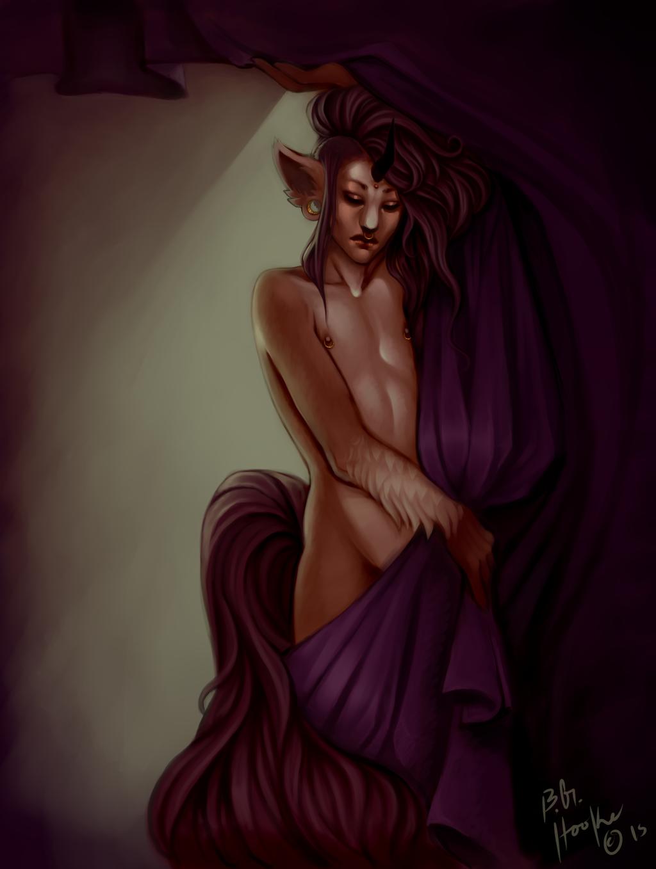 Partial, Painting: Ela