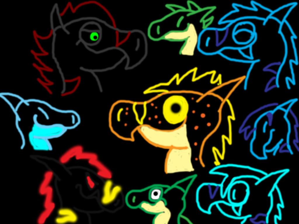 Glow Characters