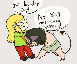 It's Laundry Day