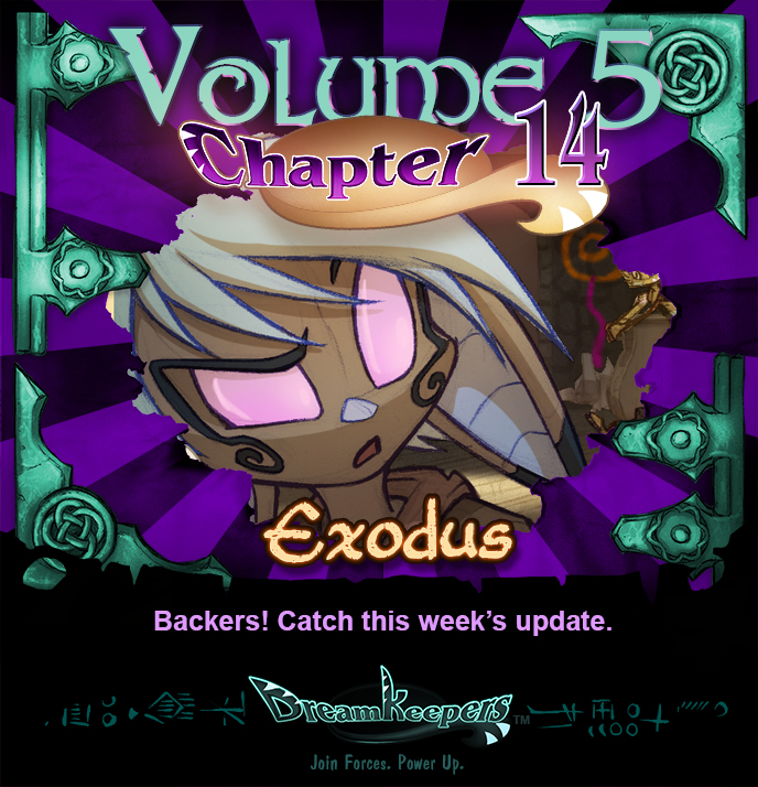 Volume 5 page 54 Update Announcement