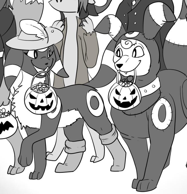 Team Halloween! - by Pippuri