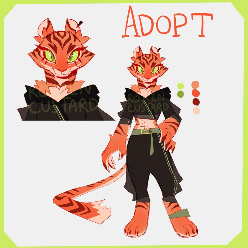 Most recent image: ADOPT - Tiger