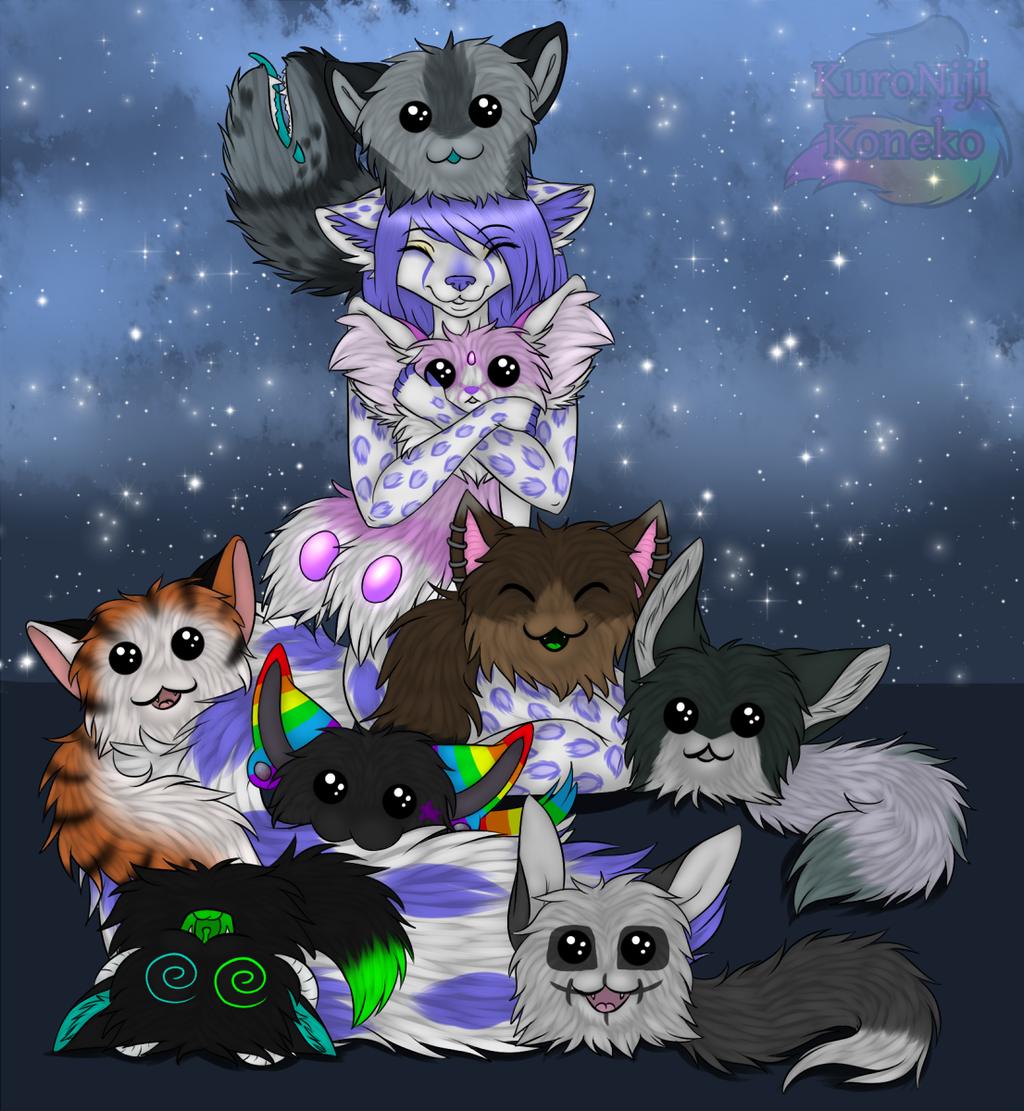 Featured image: [YCH] Bundles of Fluff