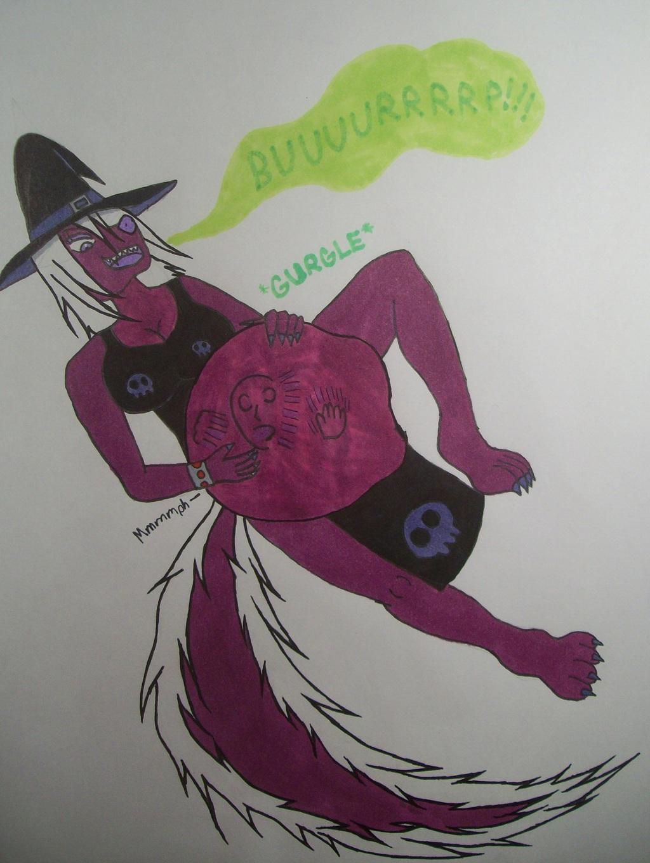 Ferra the Vampiric Skunk Witch