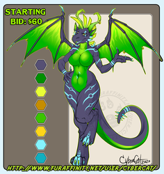CyberDragon Adoptable Starting Bid $60