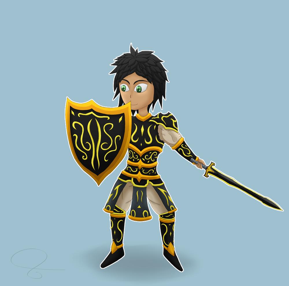 Egg #4: Chibi Warrior