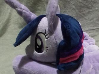 Giant Twilight Sparkle beanie (for sale)