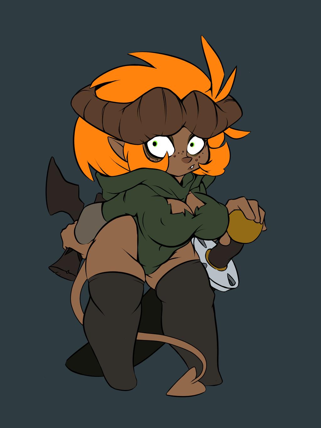 Pathfinder: Armella the Tiny Tiefling