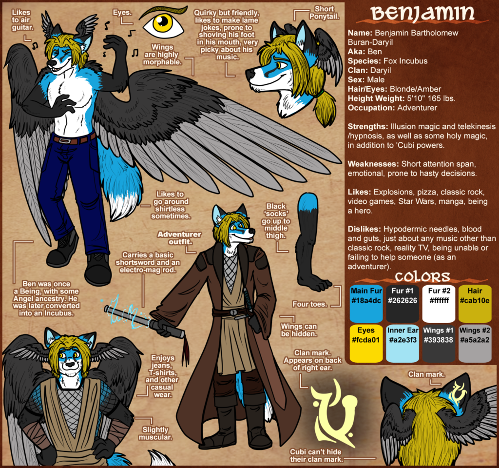 Featured image: The Official Ben Buran Ref Sheet
