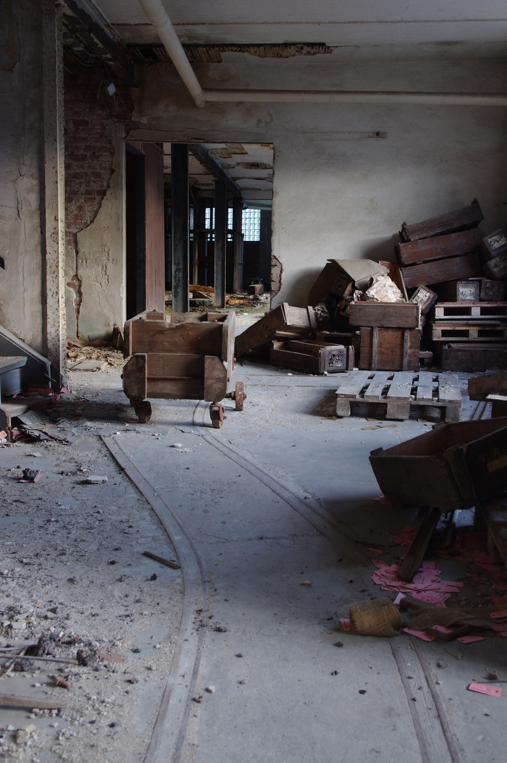 An abandoned factory 12