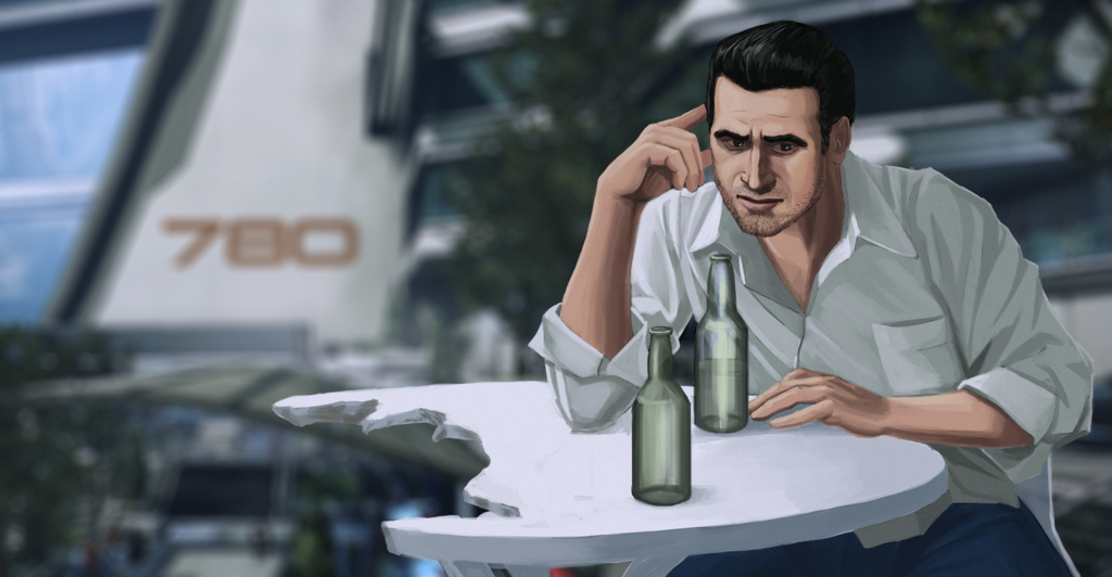 Most recent image: Kaidan- Post ME3