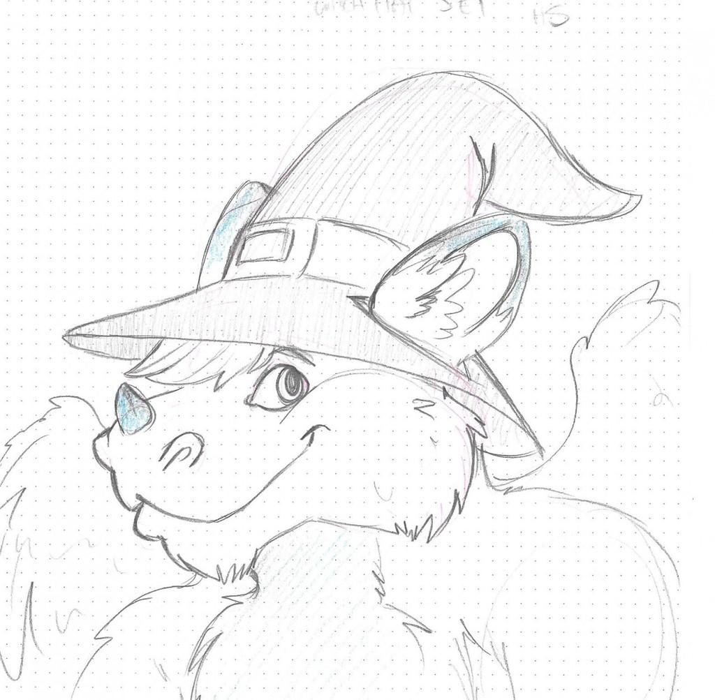 Jet *Sketch* manlyshark from fur-eh 2015