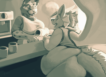 Timed Comm- Zeek & Milena Flirting [1/2]