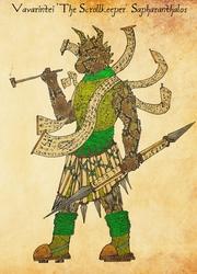 Vavarinthei 'the Scrollkeeper' Sapharanthalos