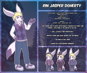 Rin ref sheet (SECONDARY SONA)
