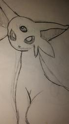 Espeon Sketch