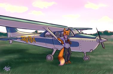Commission - Skyfox