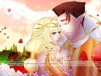 Gilsavha - Fantasy Wedding + Speedpaint