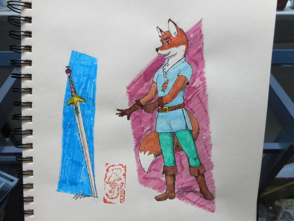Inktober Day 6: Sword