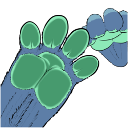Nibbles Paws! V2 [Comm]