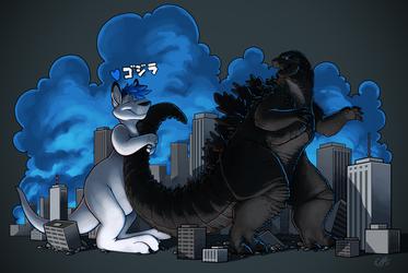 Godzilla, good luck with Kong!