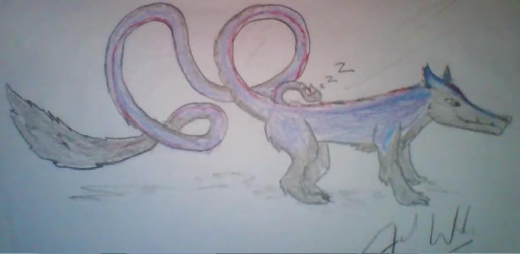 Most recent image: My sergal feral