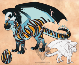 Adoptable - DragonStalker0713
