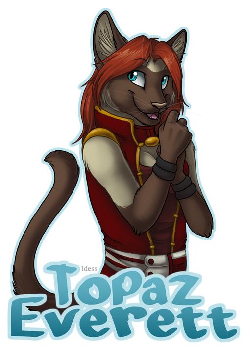 Featured image: Topaz Everett Badge