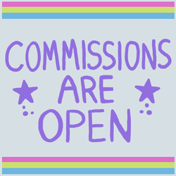 Commissions Are Open