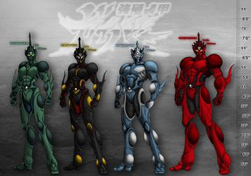 The Guyver PD: Bio Boosted Height Chart