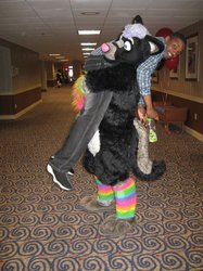 FWA 2012 - Day 2 - Syberfox and Diggyroo