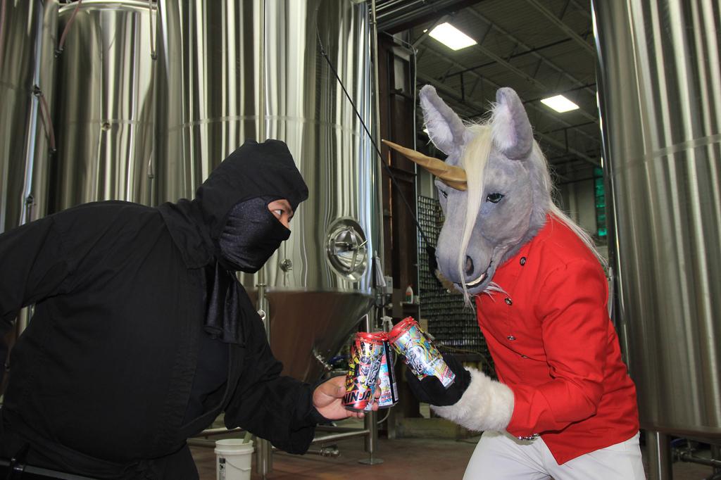 Most recent image: Get off my beer!
