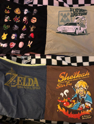 The Legend of Zelda Tshirt Pillow Case made for myself