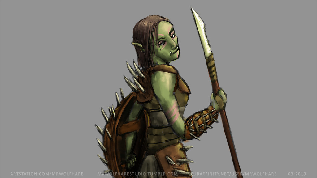 Most recent image: The Warrior Girl