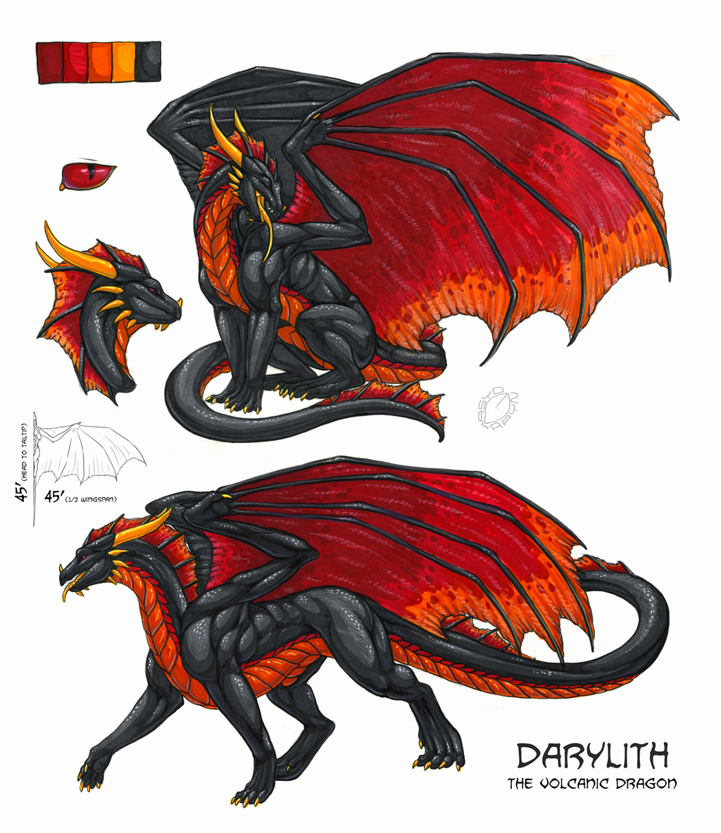 Feral Darylith Reference - by Acidapluvia