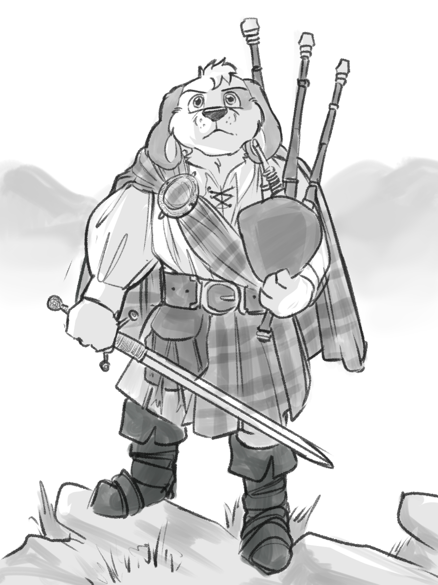 Barnaby of the Highlands by Jonas