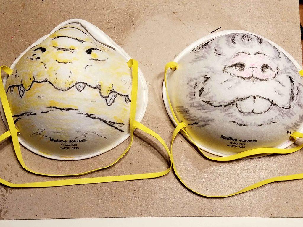 Most recent image: Pathfinder Masks