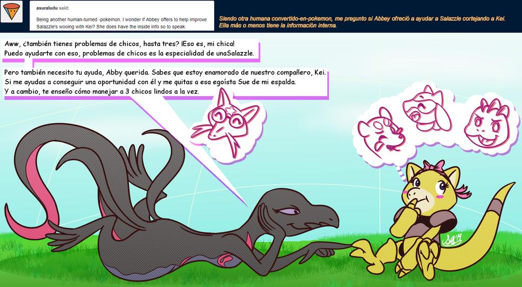 Baby Mewtwo replies question #81 espanol