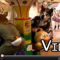 [Video] Deer and Husky Ride in Kids Carousel