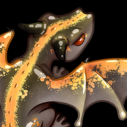 Fire Dragon gecko