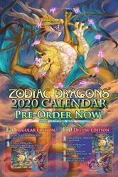 2020 Zodiac Dragons Calendar Pre-Order NOW