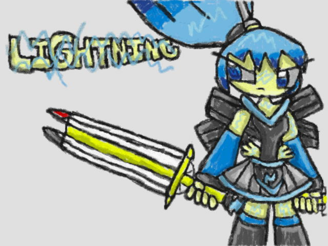 Lightning the Electric Ink