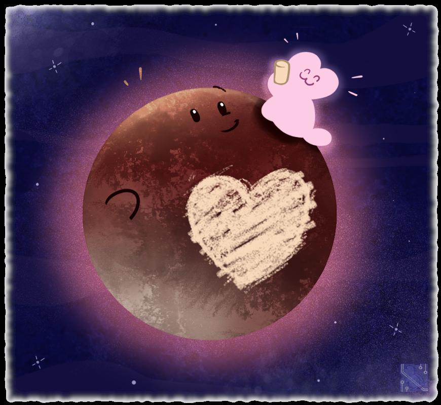 Most recent image: I Drew On Pluto