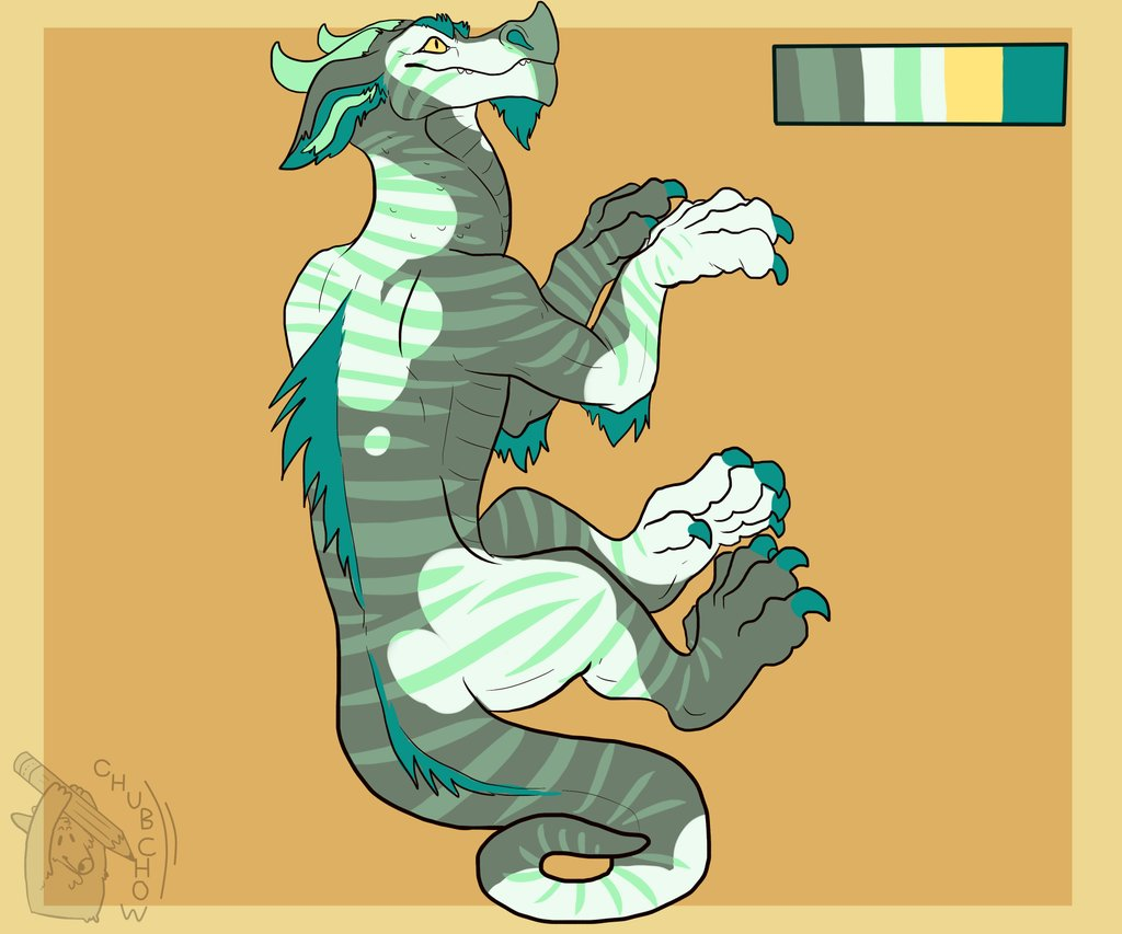 Elliot - New Dragon Character! (Gift from Chubchow)