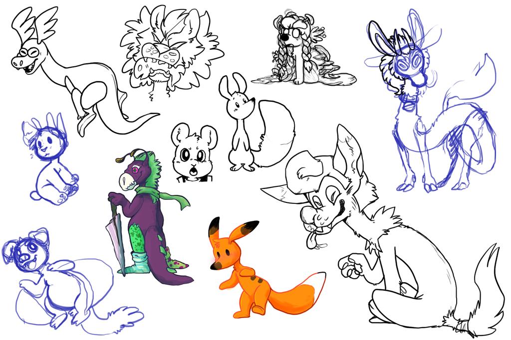 New comp sketchess