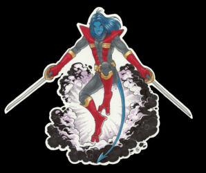 Nightcrawler Laptop Sticker