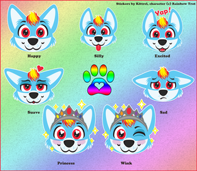 Rainbow Trot Telegram Sticker Set